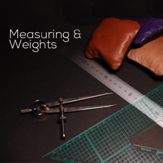 Measuring and Weights